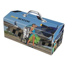 Warbird Pinup Girls Crazy Horse Toolbox