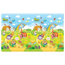 Pororo Fruit Land with 123 Soft PVC Play Mat
