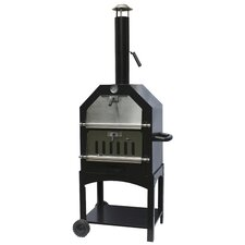 <strong>La Hacienda</strong> Steel Pizza Oven and Smoker