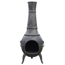 Cast Iron Chimenea Plaited