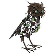 Steel Owl Figurine