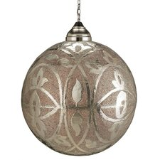 Sahara 1 Light Globe Pendant