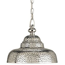 <strong>Currey & Company</strong> Lowell 1 Light Mini Pendant