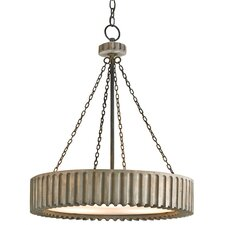 Greyledge 3 Light Drum Chandelier