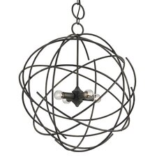 <strong>Currey & Company</strong> Belfry 4 Light Mini Chandelier