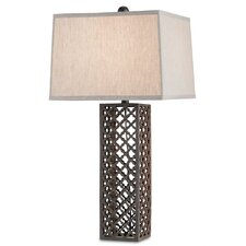 "Madera 31"" H Table Lamp with Square Shade"