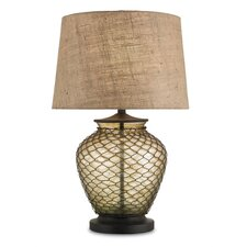 "Weekend "" H Table Lamp with Drum Shade"