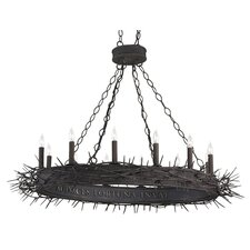 <strong>Currey & Company</strong> Fortune 12 Light Chandelier
