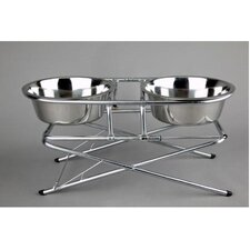 Tristage Double Elevated Feeder