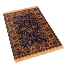 Indian Agra Blue Rug