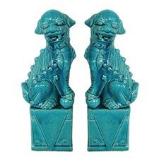 Fabulous Styled Foo Dog Figurine (Set of 2)