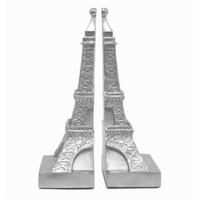 Unique Small Eiffel Tower Bookend (Set of 2)