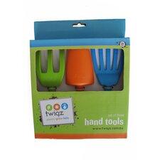 3 Piece Kids Hand Gardening Tools Set
