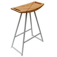 "Roberts 24"" Bar Stool with Inlay"