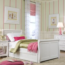School House Twin Sleigh Bed