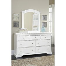 Walnut Street 7 Drawer Dresser