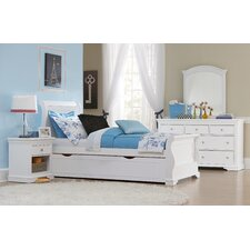 <strong>NE Kids</strong> Walnut Street Sleigh Bedroom Collection