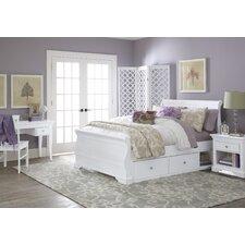 Walnut Street Sleigh Bedroom Collection