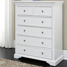 Walnut Street 6 Drawer Chest