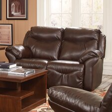<strong>Southern Motion</strong> Big Time Lay Flat Reclining Loveseat
