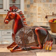Figurine Horse Fan