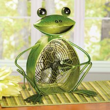 Figurine Frog Fan