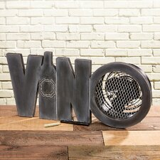 Figurine Vino Wood Fan