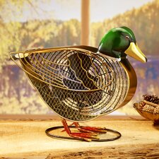 Figurine Duck Fan