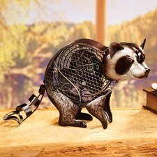 Figurine Raccoon Table Fan