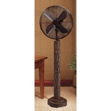 "16"" Fir Bark Floor Fan"