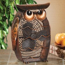 Figurine Owl Fan