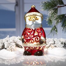 Figurine Santa Luminary Light Christmas Decoration
