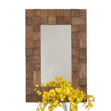 <strong>Selections by Chaumont</strong> Textured Design Palma Functional Mirror
