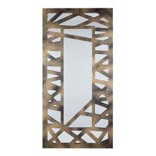 Criss Cross Design Decorative Mirror