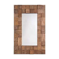 Textured Design Palma Functional Mirror