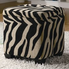 Oak Valley Cube Ottoman