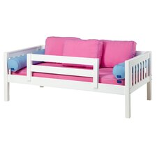 YEAH Slat Daybed with Back and Front Guard Rails