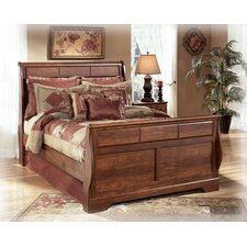 Oakridge Sleigh Headboard in Brown