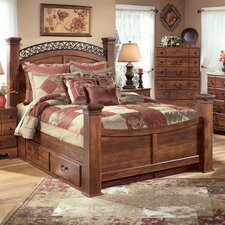 Oakridge Poster Footboard in Brown