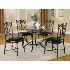 Alba 5 Piece Dining Set