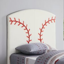 Bowdoin Baseball Twin Upholstered Headboard