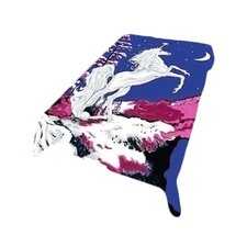 Acrylic Mink Duke Unicorn Blanket