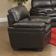 Bishop Hills Leather Armchair