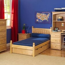 <strong>Wildon Home ®</strong> Storage Units Twin Bed Storage Drawers Panel Bedroom Collection
