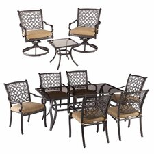 Agio Charlotte 10 Piece Dining Set