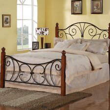 Madadequet Metal Queen Bed