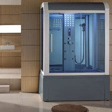 Sliding Door Steam Shower Enclosure Unit