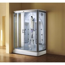 <strong>Eagle Bath</strong> Sliding Door Steam Shower Enclosure Unit