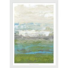 Heather Seas I by Jennifer Goldberger Framed Painting Print