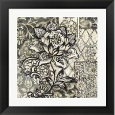 Printed Graphic Chintz II Framed Art